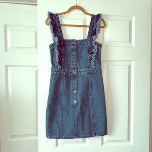🤍💙Cute denim mini dress dress 🤍💙